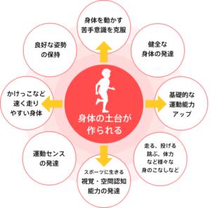 幼児の身体